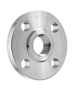 150# Class 304 SS FNPT Raised Face Pipe Thread Flange - Select Pipe Size for Price