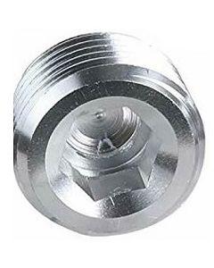 Aluminum Socket Allen Head Solid MNPT Plug - Select Size for Price