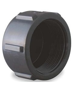 Female Pipe Thread Cap Schedule 80 PVC Fitting  - Select Size for Price - Made in the USA