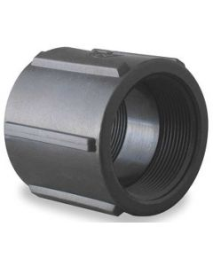 Female Pipe Thread Coupling Schedule 80 PVC Fitting  - Select Size for Price - Made in the USA