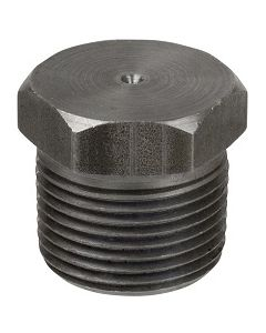 "50 Pack of 1/8"" NPT Male Hex Head Solid Low Carbon Steel Pipe Thread Plugs - Made in the USA"
