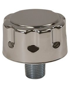 Hooded Filtered Breather Vent Male NPT Pipe Threads  - Select Size for Price