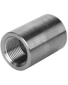 High Pressure 304 SS NPT Full Coupling Stainless Steel Class 3000 Fitting  - Select Size for Price