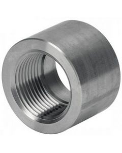 High Pressure 316 SS NPT Weld Bung Half Coupling Stainless Steel Class 3000 Fitting  - Select Size for Price