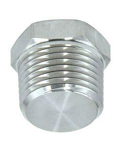 "50 Pack of 1/8"" NPT Hex Head Pipe Thread Plugs Zinc Coated Low Carbon Steel - Made in the USA"