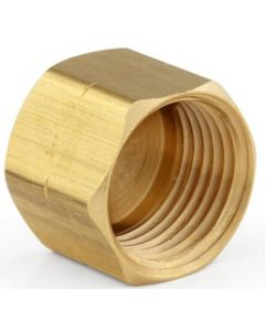 Brass Female Pipe Thread FNPT End Cap Fitting - Select Size for Price