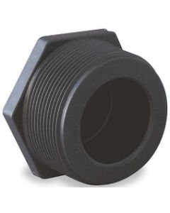 Male Pipe Thread Plug Schedule 80 PVC Fitting  - Select Size for Price - Made in the USA
