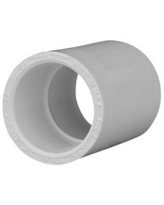 Socket Female Pipe Coupling Schedule 40 PVC Fitting  - Select Size for Price - Made in the USA