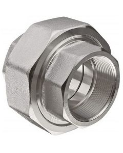 High Pressure 316 SS NPT Union Stainless Steel Class 3000 Fitting  - Select Size for Price