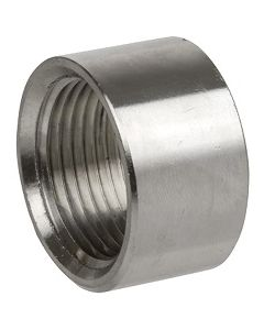 """50 Pack of Stainless 304 SS 1/2"""" NPT Half Coupling Weld Bungs"""