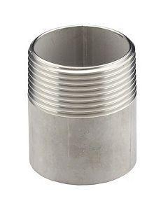 "2"" Aluminum Weld-in Threaded Filler Neck - Select Length for Price"