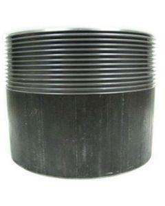 "2"" Black Steel Weld-in Threaded Filler Neck - Select Length for Price"