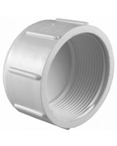 Female Pipe Thread Cap Schedule 40 PVC Fitting  - Select Size for Price - Made in the USA