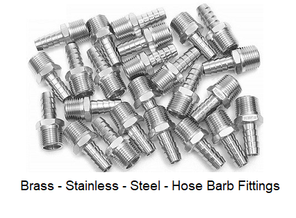 Brass Stainless Steel Hose Barb Fittings