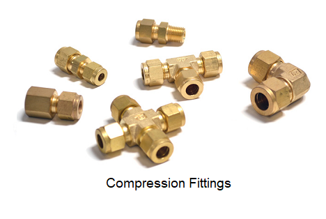 Brass - Steel - Compression Fittings