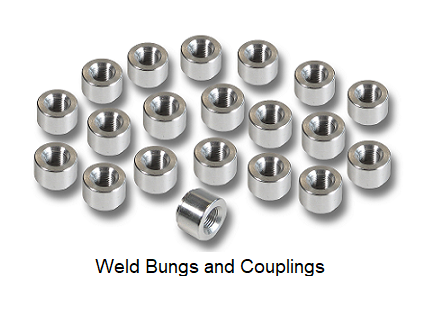 Weld Bungs and Couplings